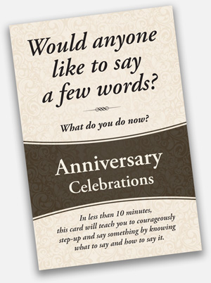 Mattson Anniversary Celebrations Card