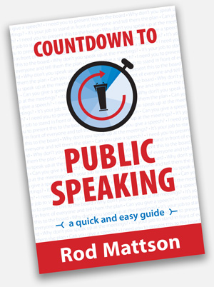 Countdown to Public Speaking