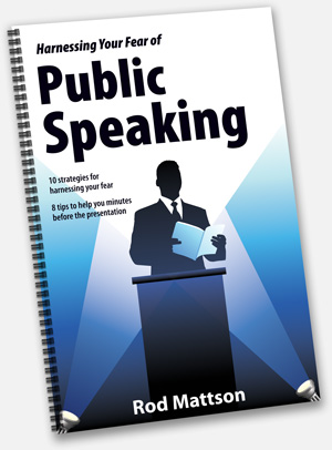 Harnessing Your Fear of Public Speaking Book